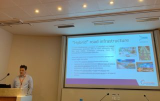 Dr. Giannis Karaseitanidis from ICCS is representing INFRAMIX