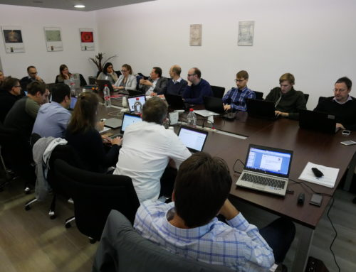 INFRAMIX Midterm Plenary Meeting held in Barcelona
