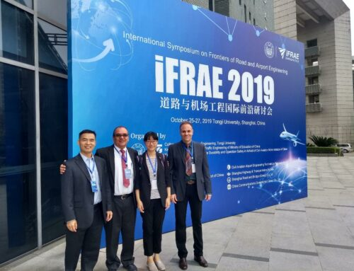 INFRAMIX was represented at iFRAE2019, in Shanghai